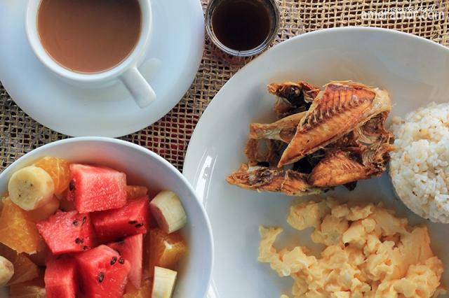 el nido breakfast
